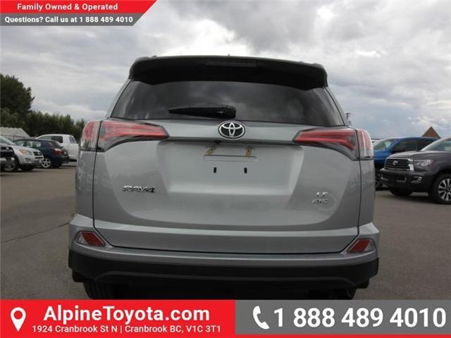 2018 Toyota RAV4 LE (Stk: W826642) in Cranbrook - Image 4 of 18