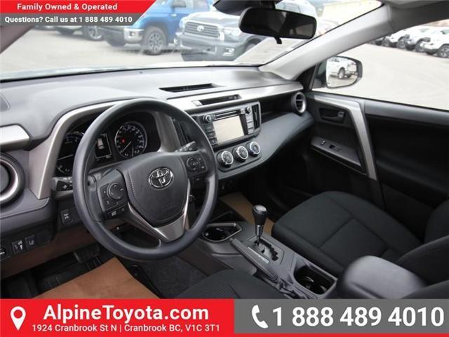 2018 Toyota RAV4 LE (Stk: W826642) in Cranbrook - Image 9 of 18