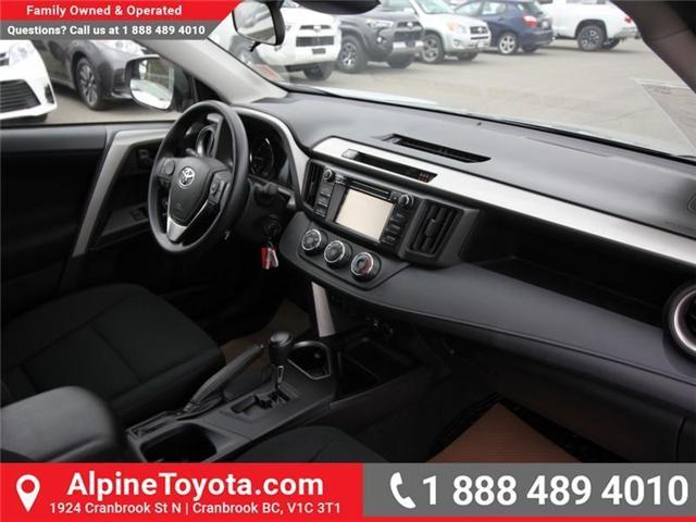 2018 Toyota RAV4 LE (Stk: W826642) in Cranbrook - Image 11 of 18
