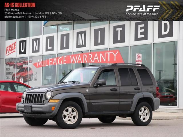 2005 Jeep Liberty Sport (Stk: LM8541A) in London - Image 1 of 18