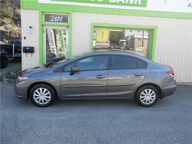2014 Honda Civic LX (Stk: ) in Sudbury - Image 1 of 6