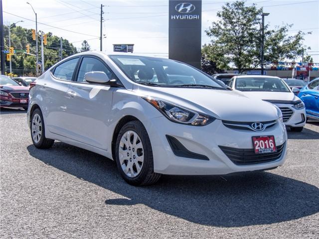 2016 Hyundai Elantra GL (Stk: R86253A) in Ottawa - Image 1 of 12
