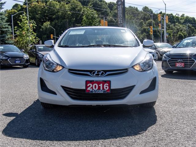 2016 Hyundai Elantra GL (Stk: R86253A) in Ottawa - Image 2 of 12