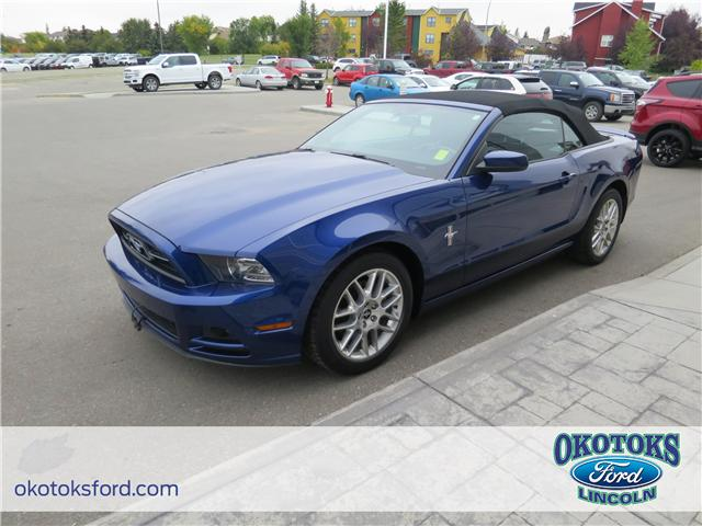2014 Ford Mustang V6 Premium (Stk: JK-270A) in Okotoks - Image 1 of 20