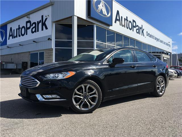 2017 Ford Fusion SE (Stk: 17-39415RJB) in Barrie - Image 1 of 24