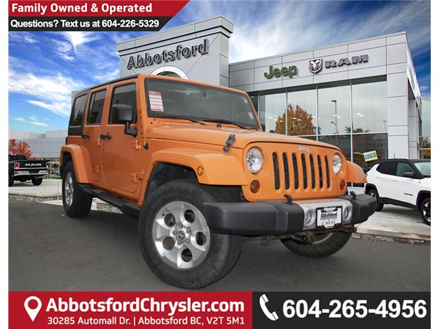 2013 Jeep Wrangler Unlimited Sahara (Stk: K207280A) in Abbotsford - Image 1 of 23