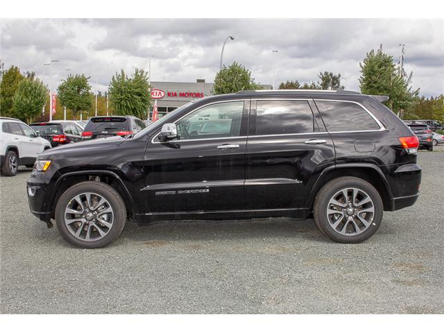 2018 Jeep Grand Cherokee Overland (Stk: J449273) in Abbotsford - Image 4 of 23