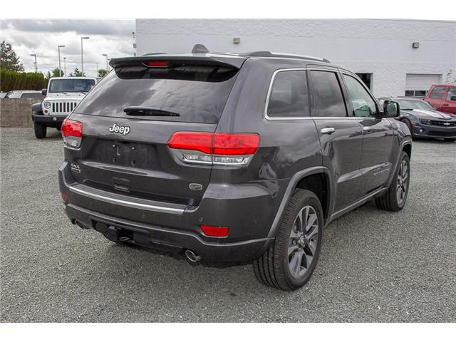 2018 Jeep Grand Cherokee Overland (Stk: J449275) in Abbotsford - Image 7 of 27