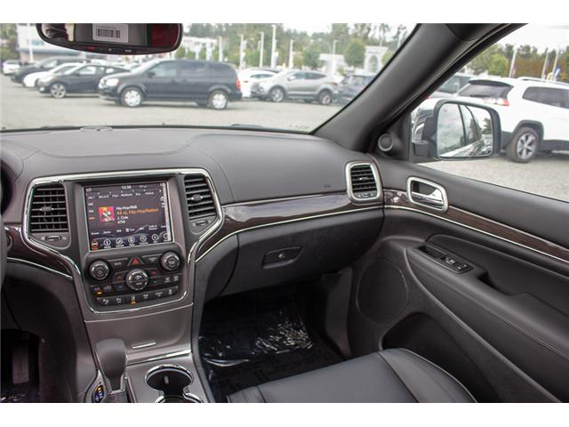 2018 Jeep Grand Cherokee Overland (Stk: J449273) in Abbotsford - Image 14 of 23