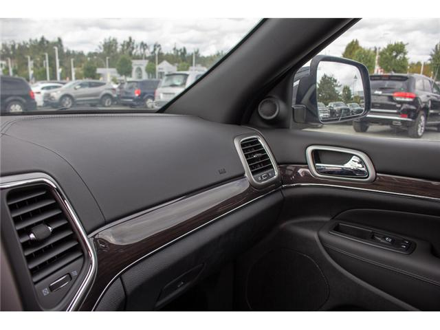 2018 Jeep Grand Cherokee Overland (Stk: J449273) in Abbotsford - Image 22 of 23