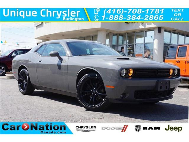 2018 Dodge Challenger SXT| BLACKTOP PKG| NAV| ALPINE SOUNDS| REAR CAM (Stk: NOU-263175-J596) in Burlington - Image 1 of 30