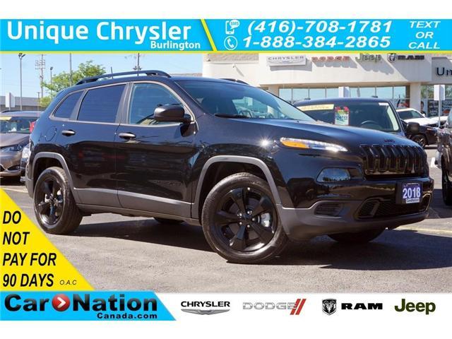 2018 Jeep Cherokee SPORT| ALTITUDE| 4X4| COLD WEATHER GRP| REAR CAM (Stk: J296L) in Burlington - Image 1 of 30