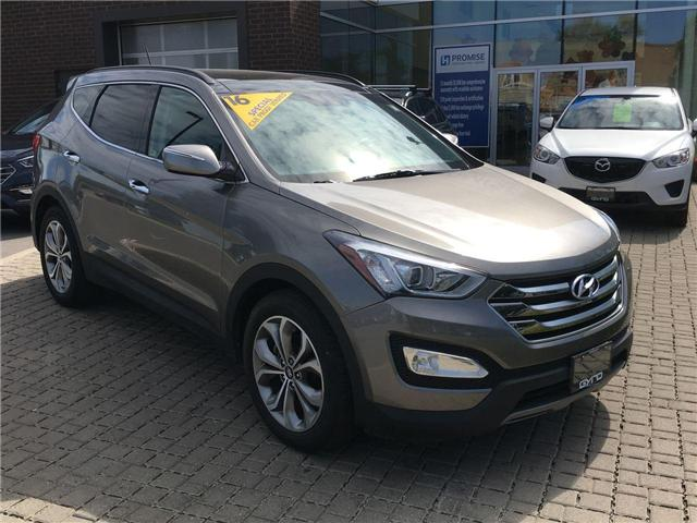 2016 Hyundai Santa Fe Sport 2.0T SE (Stk: 27476B) in East York - Image 1 of 29