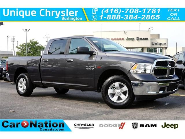 2018 RAM 1500 SLT| ECODIESEL| 6'4 BOX| 3.55 RATIO| 98L FUEL TANK (Stk: NOU-226301-J647) in Burlington - Image 1 of 30