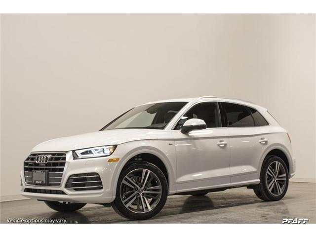 2018 Audi Q5 2.0T Progressiv (Stk: T15540) in Vaughan - Image 1 of 7