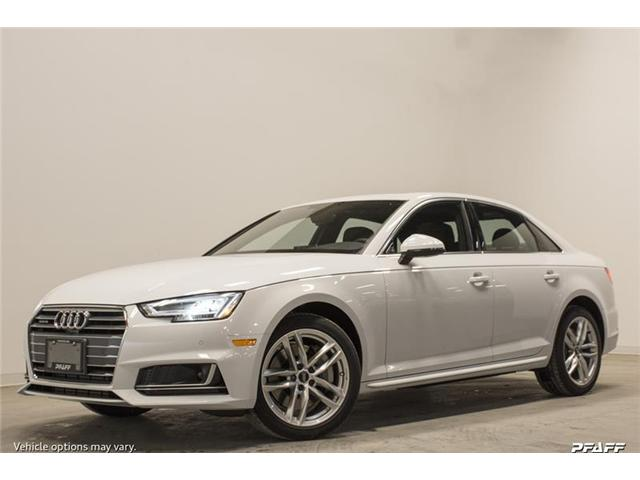 2018 Audi A4 2.0T Komfort (Stk: T15545) in Vaughan - Image 1 of 7