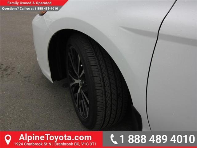 2018 Toyota Camry SE (Stk: U641489) in Cranbrook - Image 17 of 18