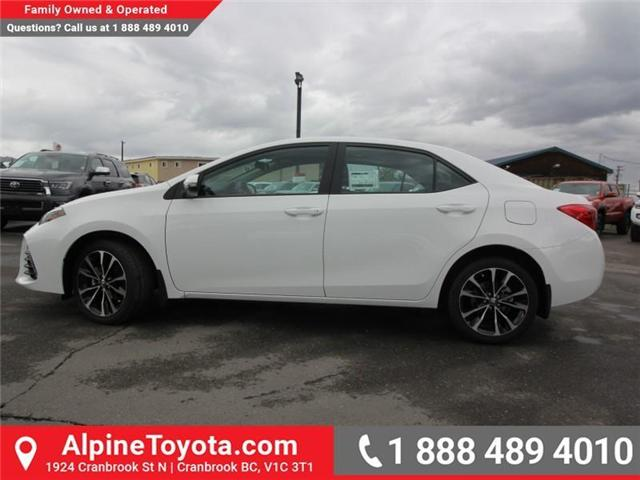 2019 Toyota Corolla SE Upgrade Package (Stk: C157607) in Cranbrook - Image 2 of 17