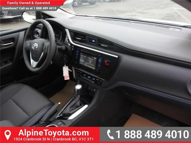 2019 Toyota Corolla SE Upgrade Package (Stk: C157607) in Cranbrook - Image 11 of 17