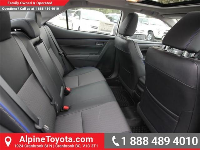 2019 Toyota Corolla SE Upgrade Package (Stk: C157607) in Cranbrook - Image 12 of 17