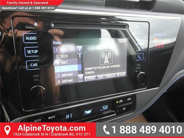 2019 Toyota Corolla SE Upgrade Package (Stk: C157607) in Cranbrook - Image 13 of 17