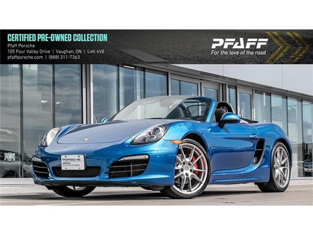 2015 Porsche Boxster S PDK (Stk: U7365) in Vaughan - Image 1 of 16