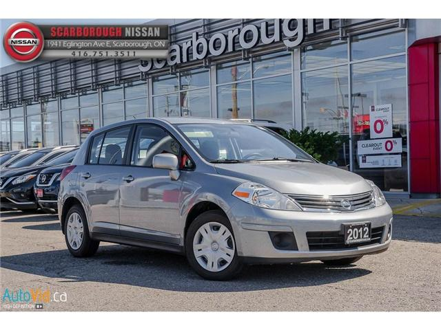 2012 Nissan Versa  (Stk: B18086A) in Scarborough - Image 1 of 23
