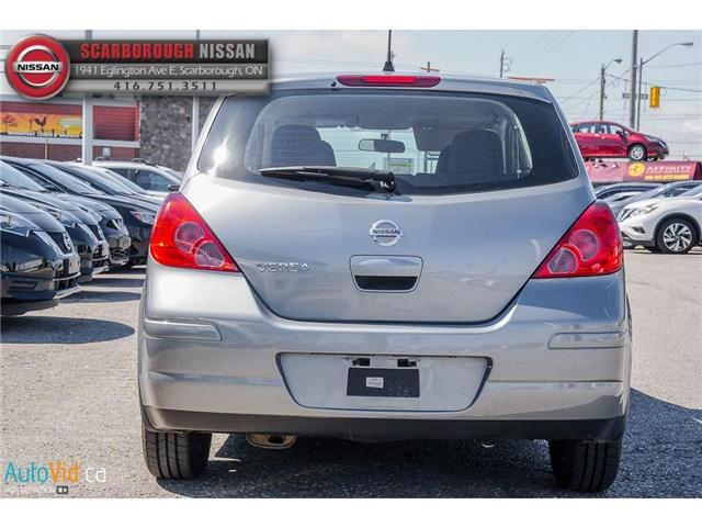 2012 Nissan Versa  (Stk: B18086A) in Scarborough - Image 6 of 23