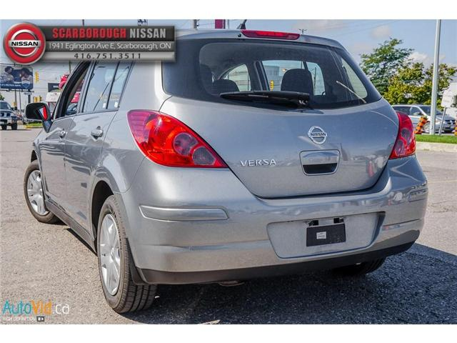 2012 Nissan Versa  (Stk: B18086A) in Scarborough - Image 7 of 23