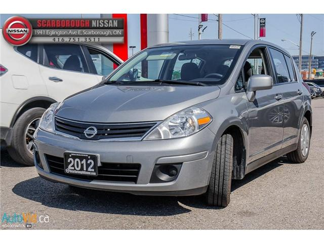 2012 Nissan Versa  (Stk: B18086A) in Scarborough - Image 9 of 23