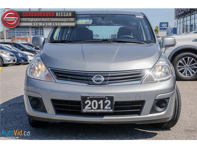 2012 Nissan Versa  (Stk: B18086A) in Scarborough - Image 10 of 23
