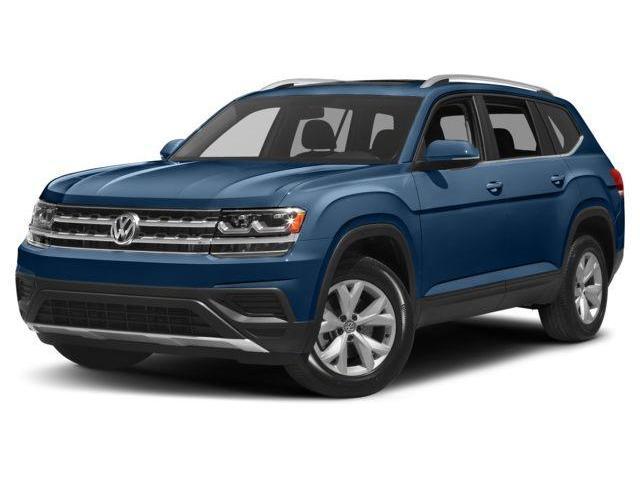 2018 Volkswagen Atlas 3.6 FSI Execline (Stk: V3292) in Newmarket - Image 1 of 8