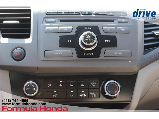 2012 Honda Civic LX at $10900 for sale in Pickering - Acura Pickering
