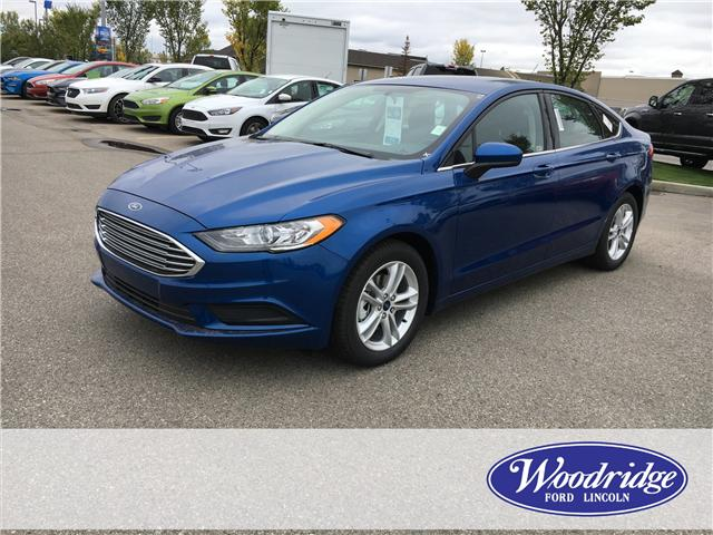 2018 Ford Fusion SE (Stk: J-2266) in Calgary - Image 1 of 5