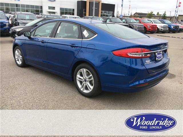 2018 Ford Fusion SE (Stk: J-2266) in Calgary - Image 3 of 5