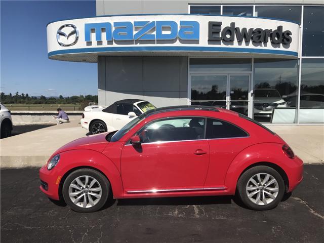 2014 Volkswagen Beetle 2.0 TDI Comfortline (Stk: 21434) in Pembroke - Image 1 of 10