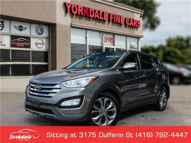 2013 Hyundai Santa Fe Sport 2.0T Limited (Stk: D1077) in Toronto - Image 1 of 27