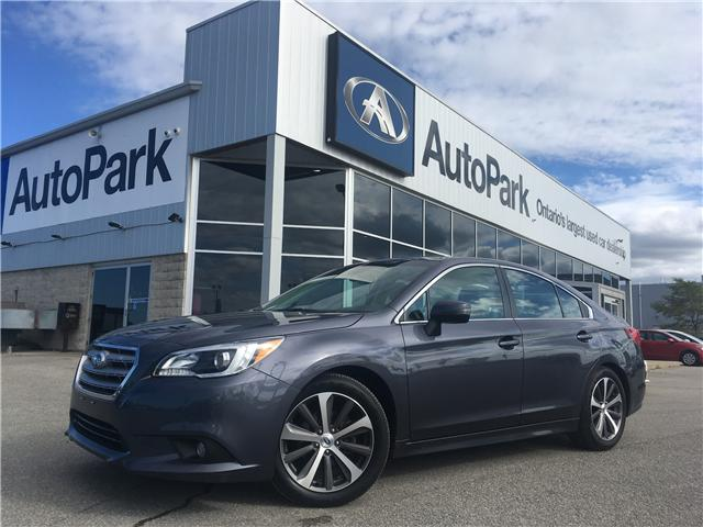 2017 Subaru Legacy 2.5i Limited (Stk: 17-09598MB) in Barrie - Image 1 of 28