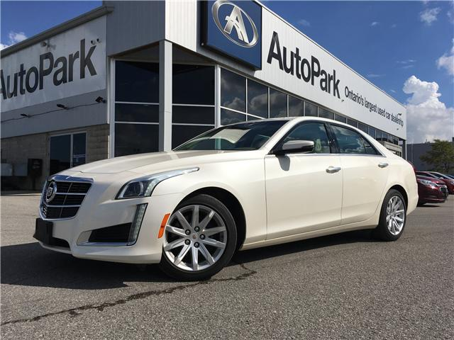 2014 Cadillac CTS 2.0L Turbo Luxury (Stk: 14-49980JB) in Barrie - Image 1 of 28