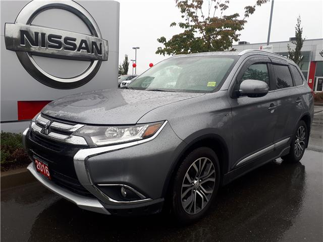 2016 Mitsubishi Outlander GT (Stk: P0013) in Courtney - Image 1 of 9