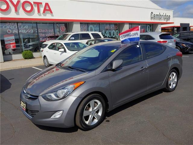 2012 Hyundai Elantra At 10989 For Sale In Cambridge