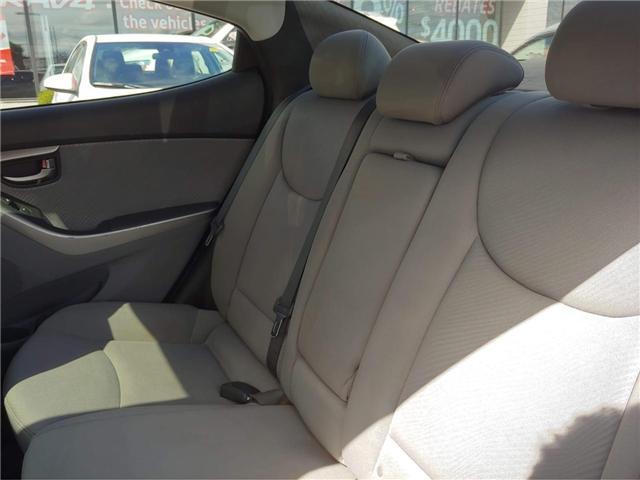 2012 Hyundai Elantra  (Stk: 1810501) in Cambridge - Image 6 of 10