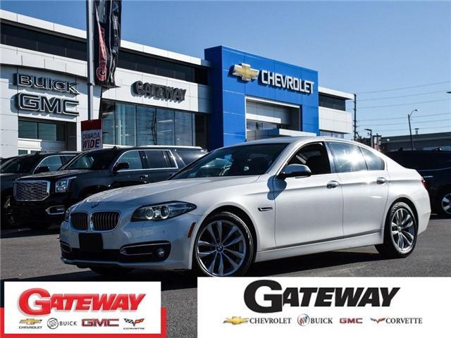 2016 BMW 528I xDrive|HEADS UP DISPLAY|360 CAM NAVIGATION| (Stk: 238510A) in BRAMPTON - Image 1 of 20