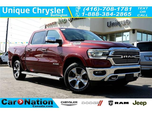 2019 RAM 1500 LARAMIE| CHROME PKG| LEVEL2 GRP| 12in TOUCHSCREEN (Stk: NOU-507691-K033) in Burlington - Image 1 of 30