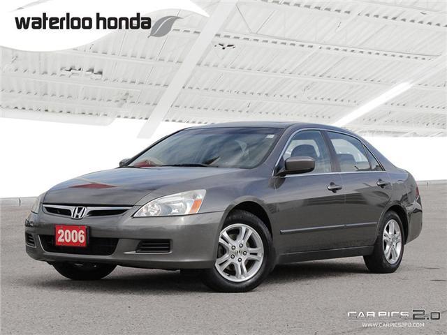 2006 Honda Accord SE (Stk: H4091A) in Waterloo - Image 1 of 28
