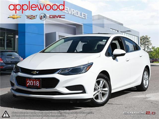 2018 Chevrolet Cruze LT Auto (Stk: 8938A) in Mississauga - Image 1 of 27