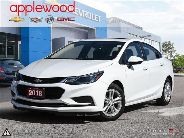 2018 Chevrolet Cruze LT Auto (Stk: 9823A) in Mississauga - Image 1 of 27