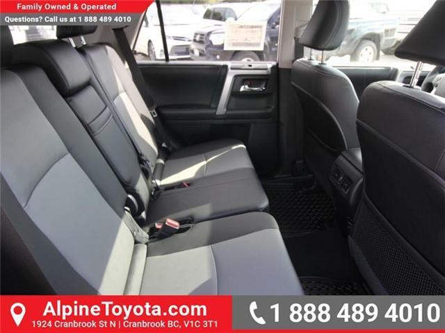 2018 Toyota 4Runner SR5 (Stk: 5604104) in Cranbrook - Image 12 of 18