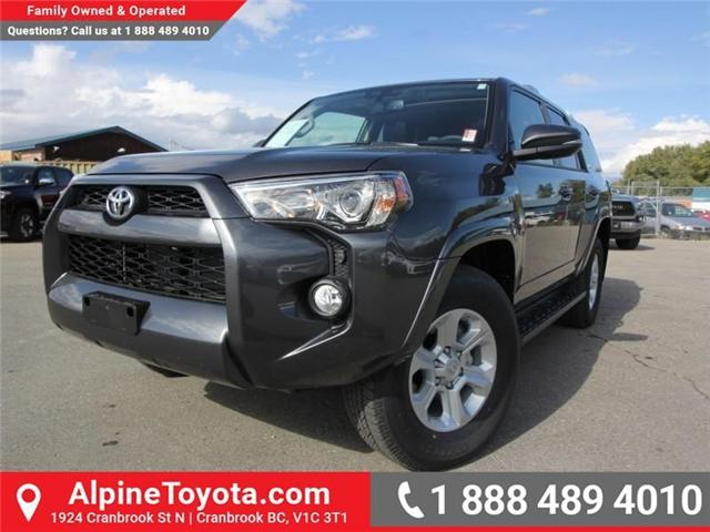 2018 Toyota 4Runner SR5 (Stk: 5607427) in Cranbrook - Image 1 of 18
