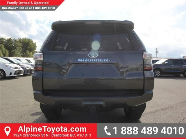 2018 Toyota 4Runner SR5 (Stk: 5607427) in Cranbrook - Image 4 of 18
